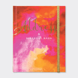 Address & Birthday Book - Flame
