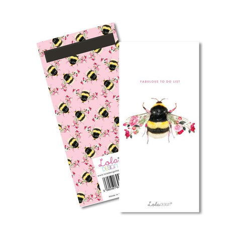 List Pad By Lola Design - Bee