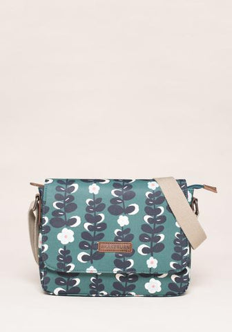 Trailing Flower Saddle Bag