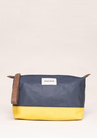 Colour Block Large Washbag - Navy