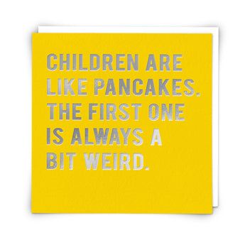 'Like Pancakes' Card