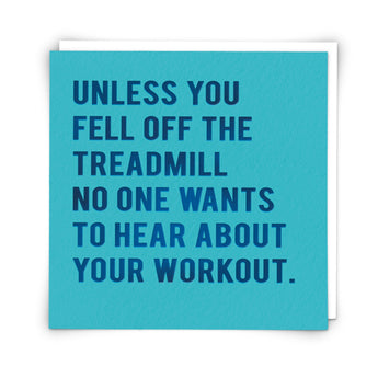 'Workout Chat' Card