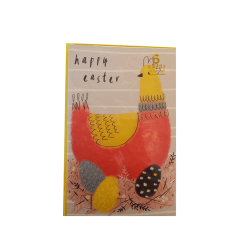 Pack of 6 Easter Cards