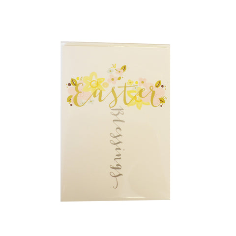 Pack of 5 Easter Blessings Cards