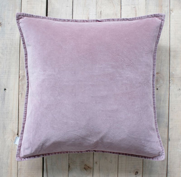 Dusty Rose Velvet Cushion