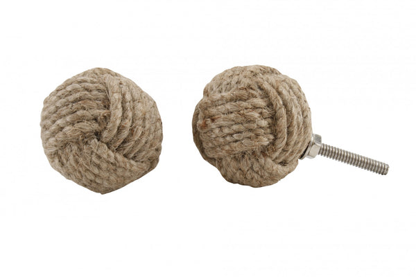 Jute Rope Drawer Pull