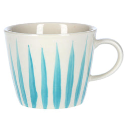 Flame Design Mug - Blue