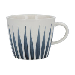 Flame Design Mug - Navy