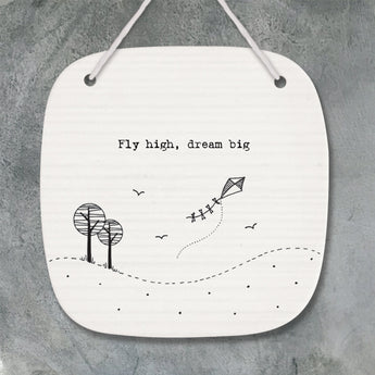 Porcelain Picture - 'Fly High, Dream Big'