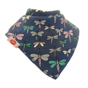 Dragonfly Zippy Baby Bib
