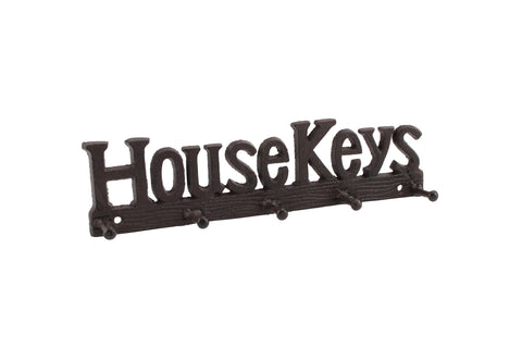 'House Keys' Wall Hook