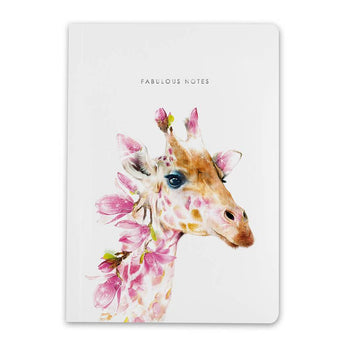 Notebook By Lola Design - Giraffe