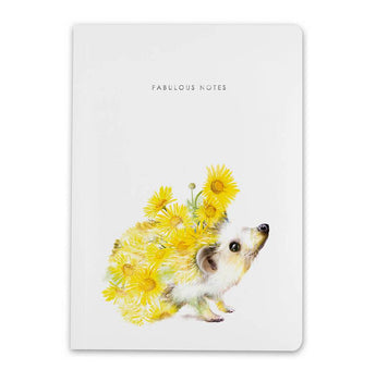Notebook By Lola Design - Hedgehog