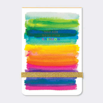A7 Jotter Notepad - 'Rainbow'