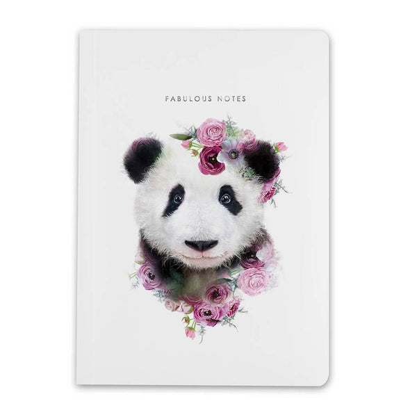 Notebook By Lola Design - Panda