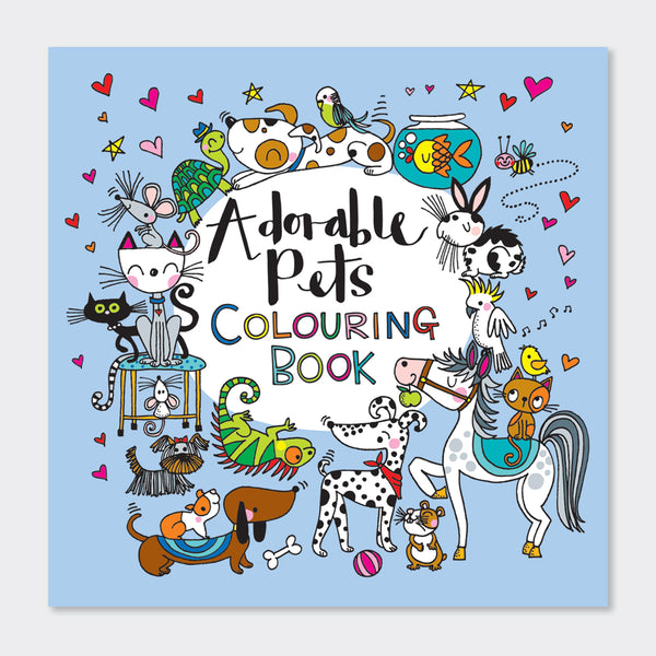 Colouring Book - 'Adorable Pets'