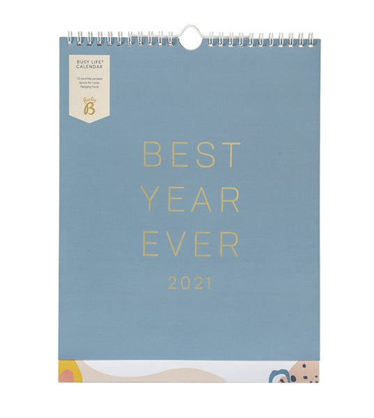 Busy B 'Best Year Ever' 2021 Calendar