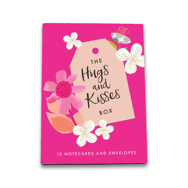 Hugs & Kisses- Pack of 10 Cards