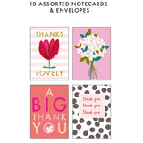 The Box Of Thanks - Pack of 10 Cards