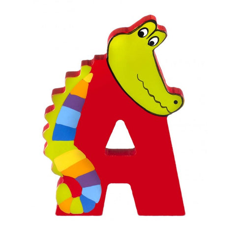 'A' Wooden Letter