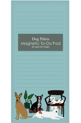 Magnetic Notepad - Dog Palais