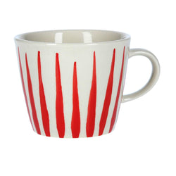 Flame Design Mug - Red