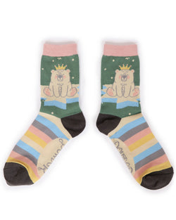 'King Bear' - Ankle Socks