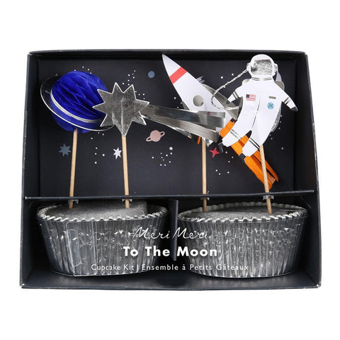To The Moon! Cupcake Kit