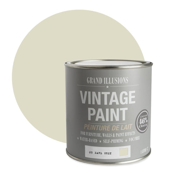 Earl Grey No. 05 - Vintage Chalk Paint