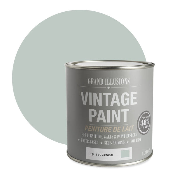 Stockholm No. 19 - Vintage Chalk Paint
