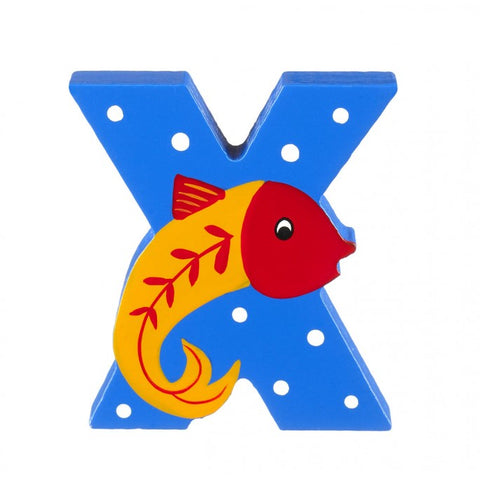 'X' Wooden Letter