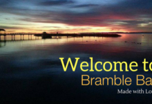 Where is Bramble Bay?