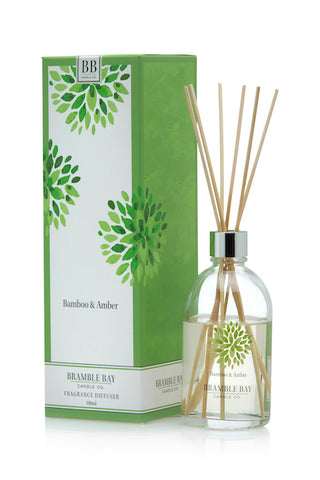 Bamboo and Amber 180ml Reed Diffuser