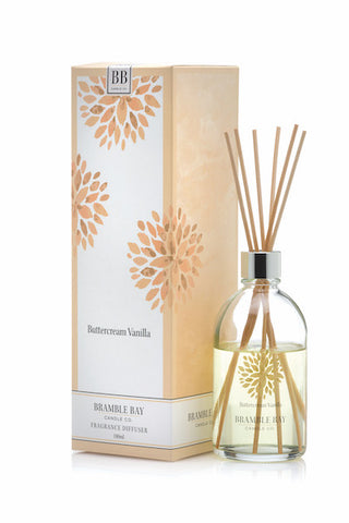 Buttercream Vanilla 180ml Diffuser