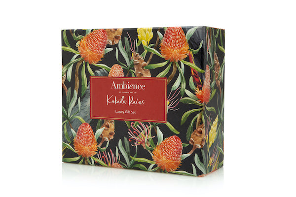 Gift Box Kakadu Rains - (Votive Candle & 300g Soak)