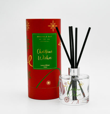 Diffuser Christmas Wishes 150ml Red-Sugar Plum