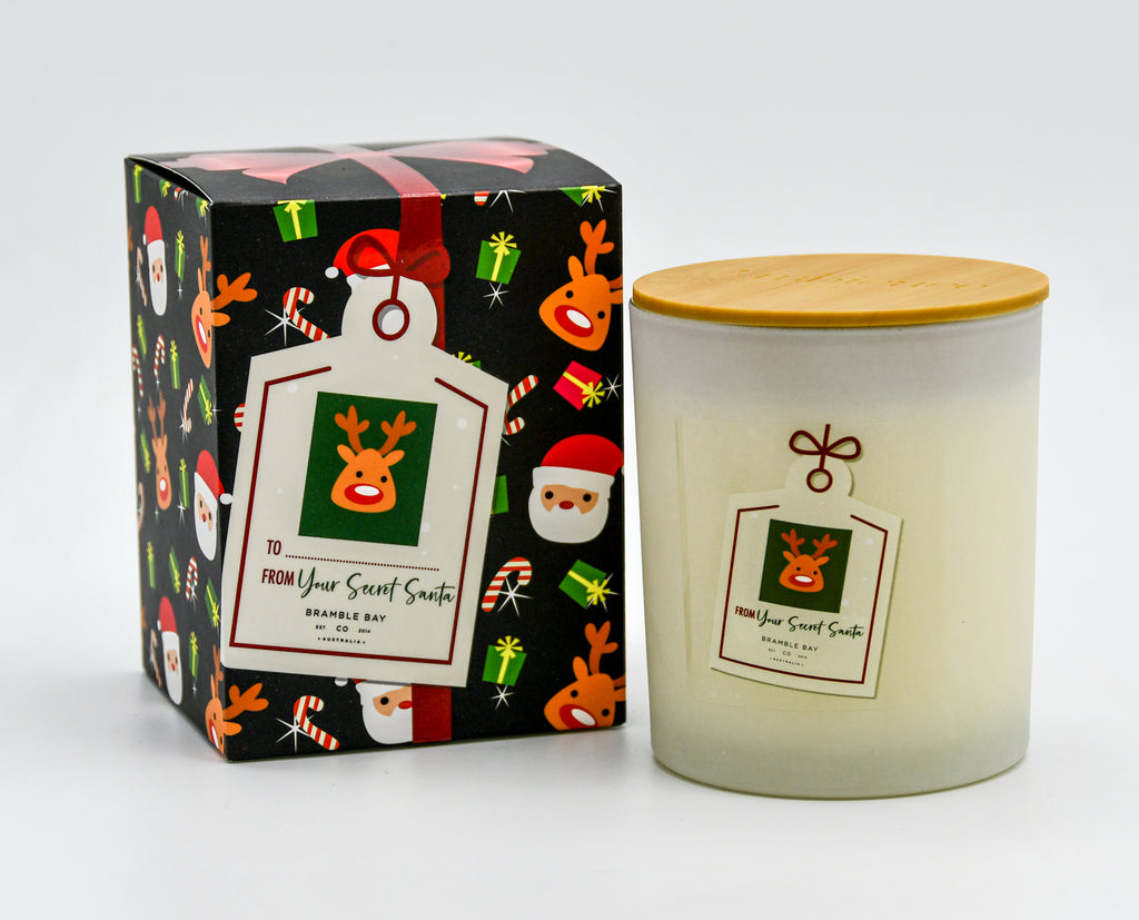 Secret Santa Candle 300gm Reindeer