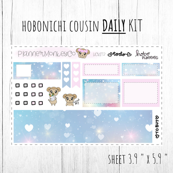 HCKIT2 | 'Princess Love' Hobo Cousin DAILY Kit