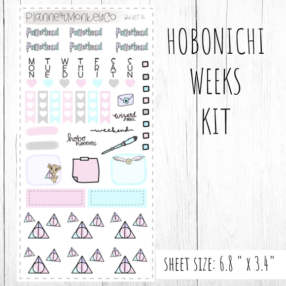 HWKIT14 | Hobonichi Weeks Kit ' Pastel Potter Head '