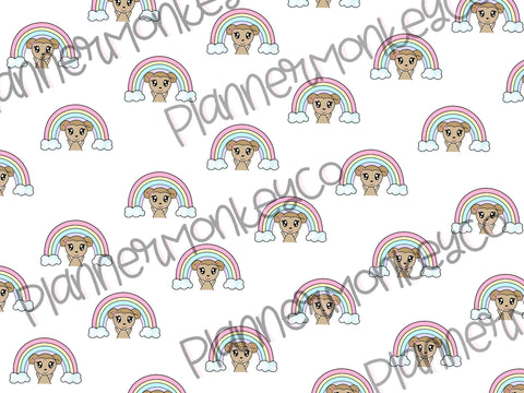 Rainbow Macy Paper | DIGITAL DOWNLOAD
