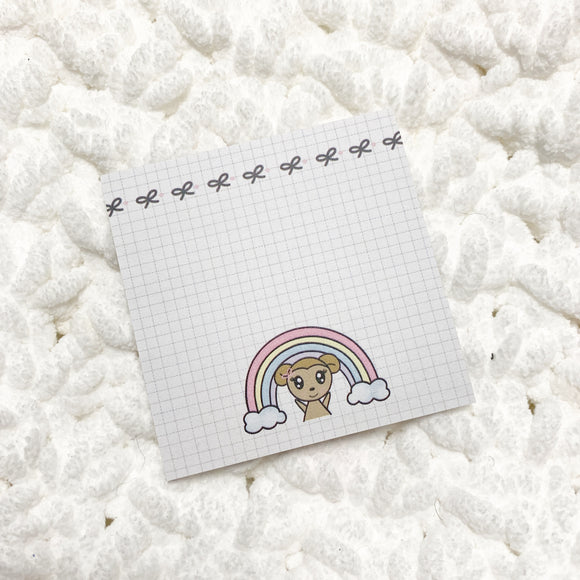 OOPS | Rainbow Macy Sticky Notes #2 (25page)