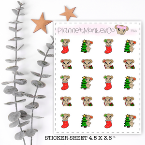 M66 | Christmas Macy Fun Stickers