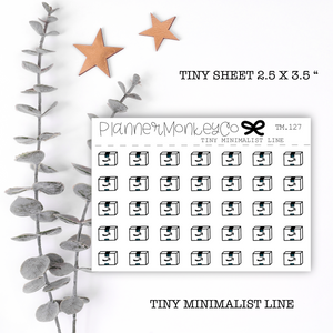 TM.127 | Amazon Package Tiny Sheet (Minimal)