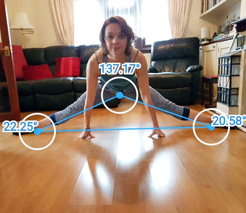 how to do the splits - flexibility goals - flexibility before and after - splits goals - middle splits - middle splits before and after