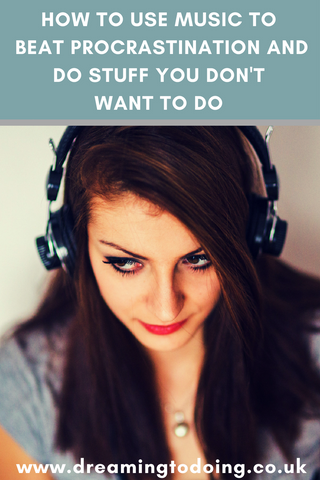 In order to get better at life, you have to do things you don't want to do when you don't want to do them! So how do you make yourself do things that you don't want to do? Try using #music to coach yourself and transform your #mood - #procrastination #motivation #students #entrepreneurs #selfimprovement - How To Beat Procrastination