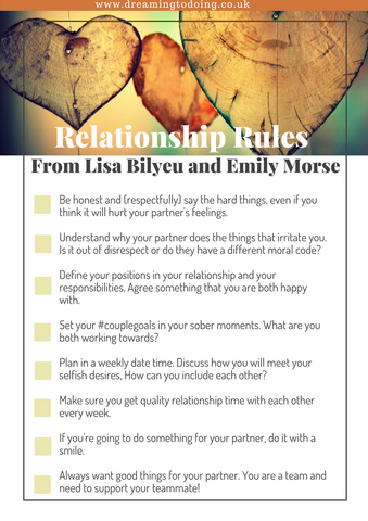 How do you get a multi million dollar business and amazing, passionate love? Follow these #relationship rules from Lisa Bilyeu and go from satisfied to supercharged #love #couplegoals #relationshipgoals #relationships #passion #romance #printable