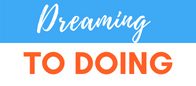 Dreaming to doing logo