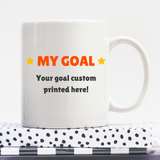 Let The Gains Begin | Personalised Mug | Motivation On A Mug | Goal Mug