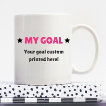 Load image into Gallery viewer, Your Only Limit Is You | Personalised Mug | Motivation On A Mug | Goal Mug