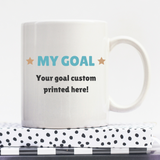 Just Breathe | Personalised Mug | Motivation On A Mug | Goal Mug